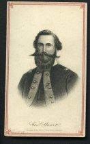 "Image of Carte-de-visite - James Ewell Brown ""JEB"" Stuart"
