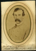 Image of Cabinet Card - William Crumm Dariah Vaught, Sr.