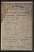 Image of Print, Photographic - Capt. Thomas B. Huger notification of commission