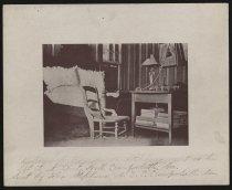 Image of Print, Photographic - Bedroom at Liberty Hall, Home of Alexander H. Stephens, Crawfordville, Georgia