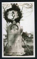 Image of Copy Print - Tombstone of Albert Gallatin Jenkins