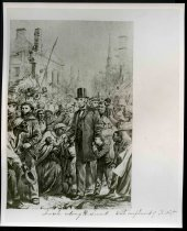 Image of Copy Print - Lincoln Entering Richmond