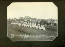 Image of Print, Photographic - Decorating the Graves of Our Confederate Dead Appomattox C.H. June 7th, 1901