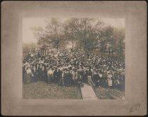 Image of Print, Albumen - Early UDC Meeting, Atlanta, Georgia