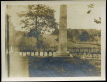 """Image of Snapshot - Monument [Bethel] """"To The Unknown Dead,"""" Middleburg, Virginia"""