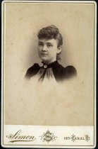 Image of Cabinet Card - Unidentified Woman