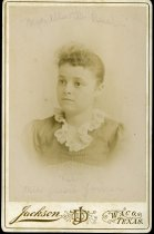 Image of Cabinet Card - Jessie May Joiner Rust