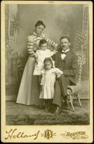 Image of Cabinet Card - Rust Family