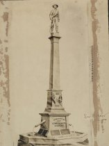 Image of Print, Albumen - Confederate Monument, Lake Village, Arkansas