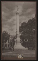 Image of Print, Photographic - Confederate Monument, Raleigh, North Carolina
