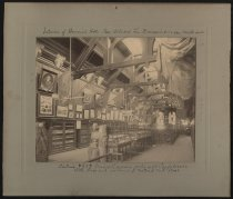 Image of Print, Photographic - Confederate Memorial Hall, interior
