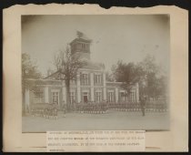 Image of Print, Photographic - Patrick Military Institute (formerly the Confederate Engraving and Printing Bureau building), Anderson, South Carolina