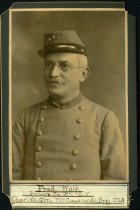 Image of Cabinet Card - Fred Wolf