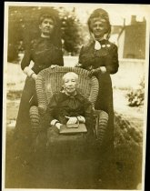 Image of Unknown - Captain Sally Tompkins and two unidentified women