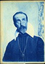 Image of Cyanotype - Allen Christian Redwood as Don Quixote