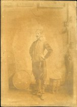 Image of Photograph - Allen Christian Redwood as Don Quixote