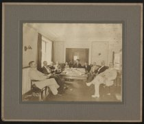 Image of Print, Photographic - meeting of the Sovereign Camp of the Woodmen of the World, 1917