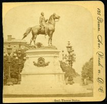 Image of Stereograph - General Stonewall Jackson monument, Washington, DC