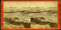 Image of Stereograph - View from the breastworks of Ft. Sedgwick