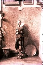 Image of Negative, Glass Plate - Allen Christian Redwood as Don Quixote