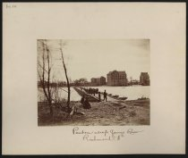Image of Print, Photographic - Pontoon across James River, Richmond, Va.