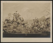 """Image of Print, Photographic - Detail from Battle Abbey's  murals """"Four Seasons of the Confederacy"""""""