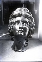 """Image of Negative, Glass Plate - Figurehead of the """"Star of the West"""""""
