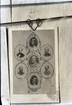 Image of Negative, Glass Plate - Robert E. Lee and Leaders