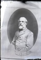 Image of Negative, Glass Plate - Robert E. Lee