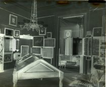 Image of Negative, Glass Plate - Georgia Room, White House of the Confederacy