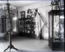 Image of Negative, Glass Plate - Florida Room, White House of the Confederacy