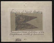 Image of Print, Photographic - Guidon of Hart's Battery