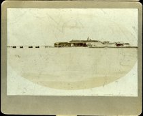 Image of Print, Photographic - Fort Sumter, Looking Seaward from Sumter Reef, 1884