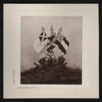 Image of Print, Photographic - Confederate Flags - In Memoriam