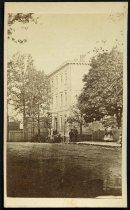 Image of Carte-de-visite - Jefferson Davis House (White House of the Confederacy)