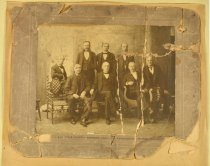Image of Print, Photographic - 8 of 12 Charter Members, State Association Confederate Soldiers, Tennessee Division, UCV