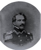 Image of Negative, Glass Plate - Robert E. Lee (as captain of cadets at West Point?)