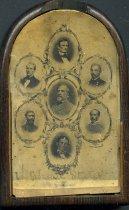 Image of Carte-de-visite - Robert E. Lee and Leaders