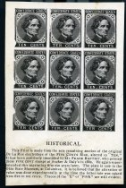Image of Print, Photographic - Confederate States Stamps
