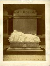 Image of Print, Photographic - Recumbent Lee Statue, Lee Chapel, Lexington, Virginia