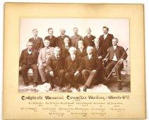 Image of Print, Photographic - Confederate Memorial Committee Meeting in Atlanta, Oct. 19-22, 1895