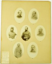 Image of Print, Photographic - Arnold Elzey and other Confederate leaders