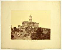 Image of Print, Albumen - Capitol at Nashville