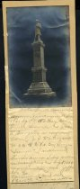 Image of Print, Photographic - Confederate Soldiers Monument, Jefferson County
