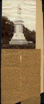 Image of Print, Photographic - Confederate Monument, Vicksburg, Mississippi