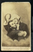 Image of Carte-de-Visite - Washington & Lincoln. (Apotheosis.)