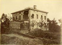 Image of Albumen - Shell-damaged Ponder House, Atlanta
