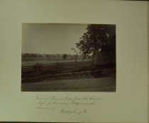 Image of Albumen - View of Round Top, from the Eastern slope of Seminary Ridge near the Seminary. Gettysburg, Pa.