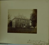 Image of Albumen - President's House, College of William and Mary, Williamsburg, Virginia