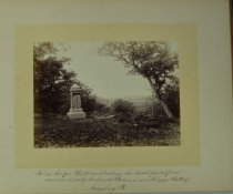 Image of Albumen - Spot where General Hancock was wounded Gettysburg, Pa.